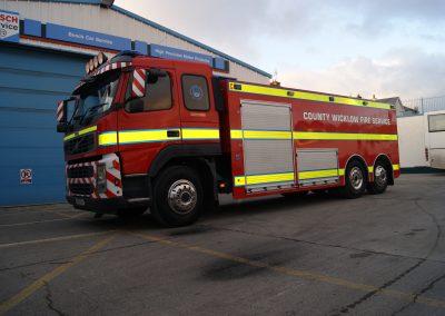 Camion incendie avec couleur personnalisée