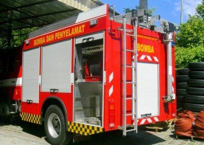 Rangements de camion fermés par rideau aluminium