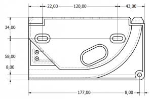 Systeme simply avec dimensions exterieures