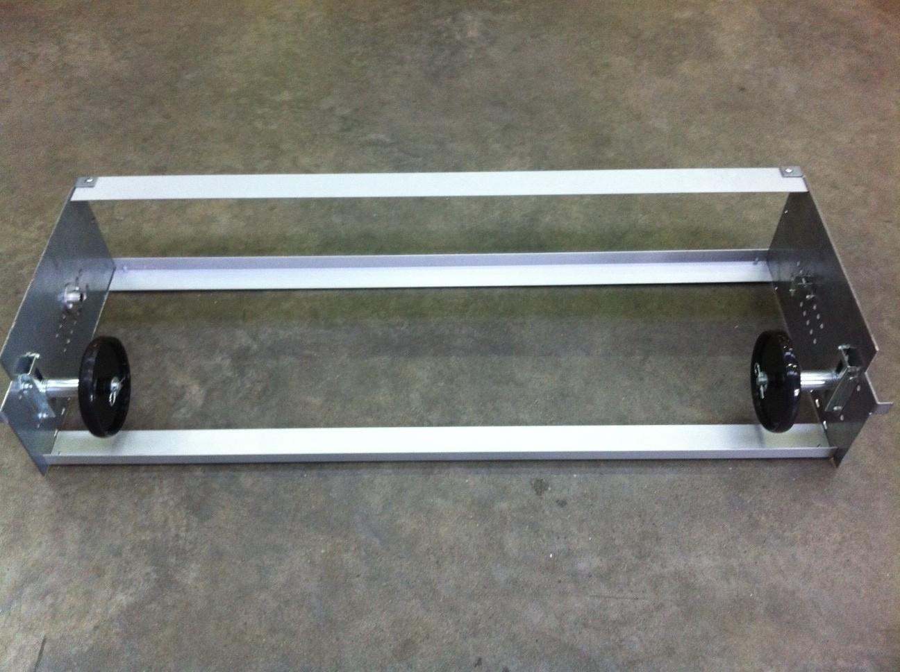Chassis rideau aluminium ready