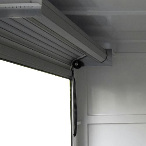 platine rideau aluminium