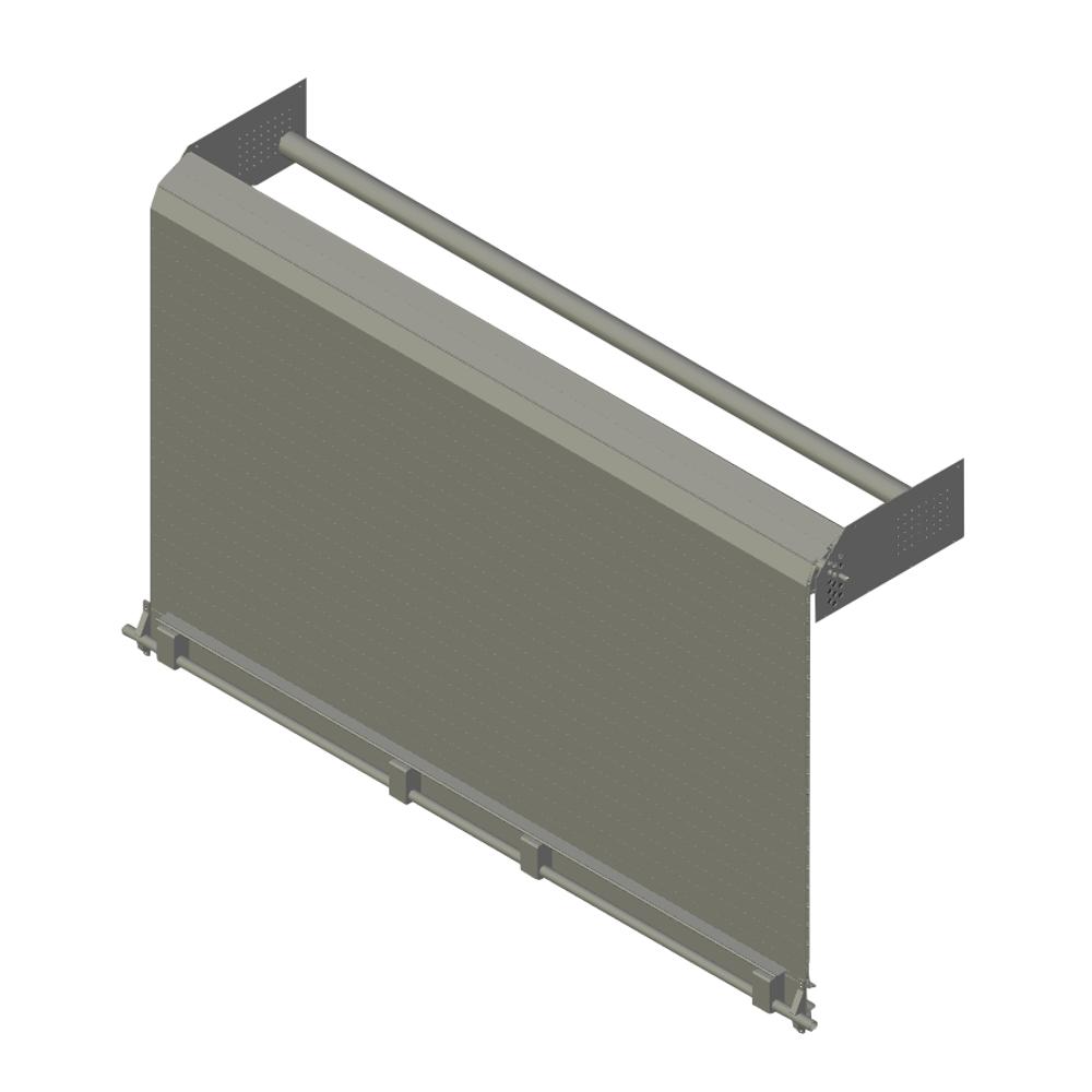 Rideaux aluminium sur mesure pour camion utilitaire