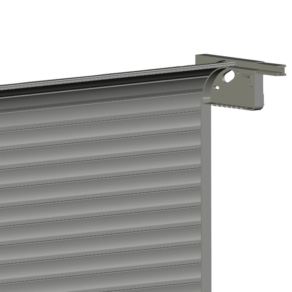 Rideau aluminium sur mesure avec glissiere de fixation