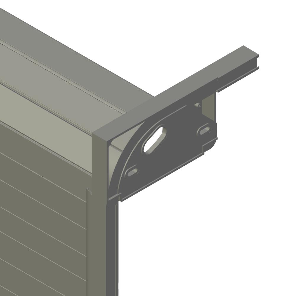Rideau aluminium sur mesure avec glissiere